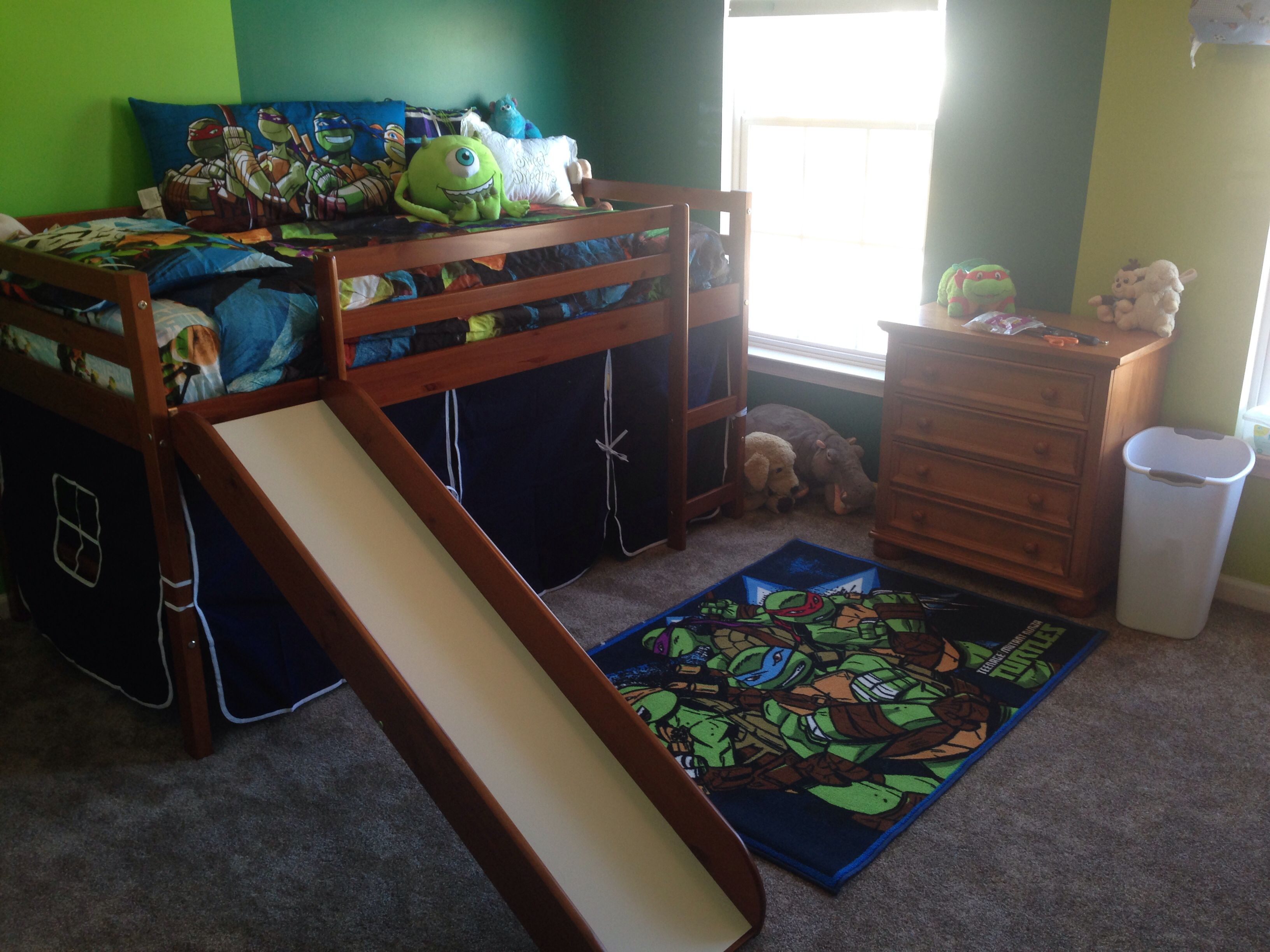 Pin By Tiffany Cabral On Ryan Turtle Bedroom Ninja Turtles Bedroom Decor Ninja Turtle Bedroom