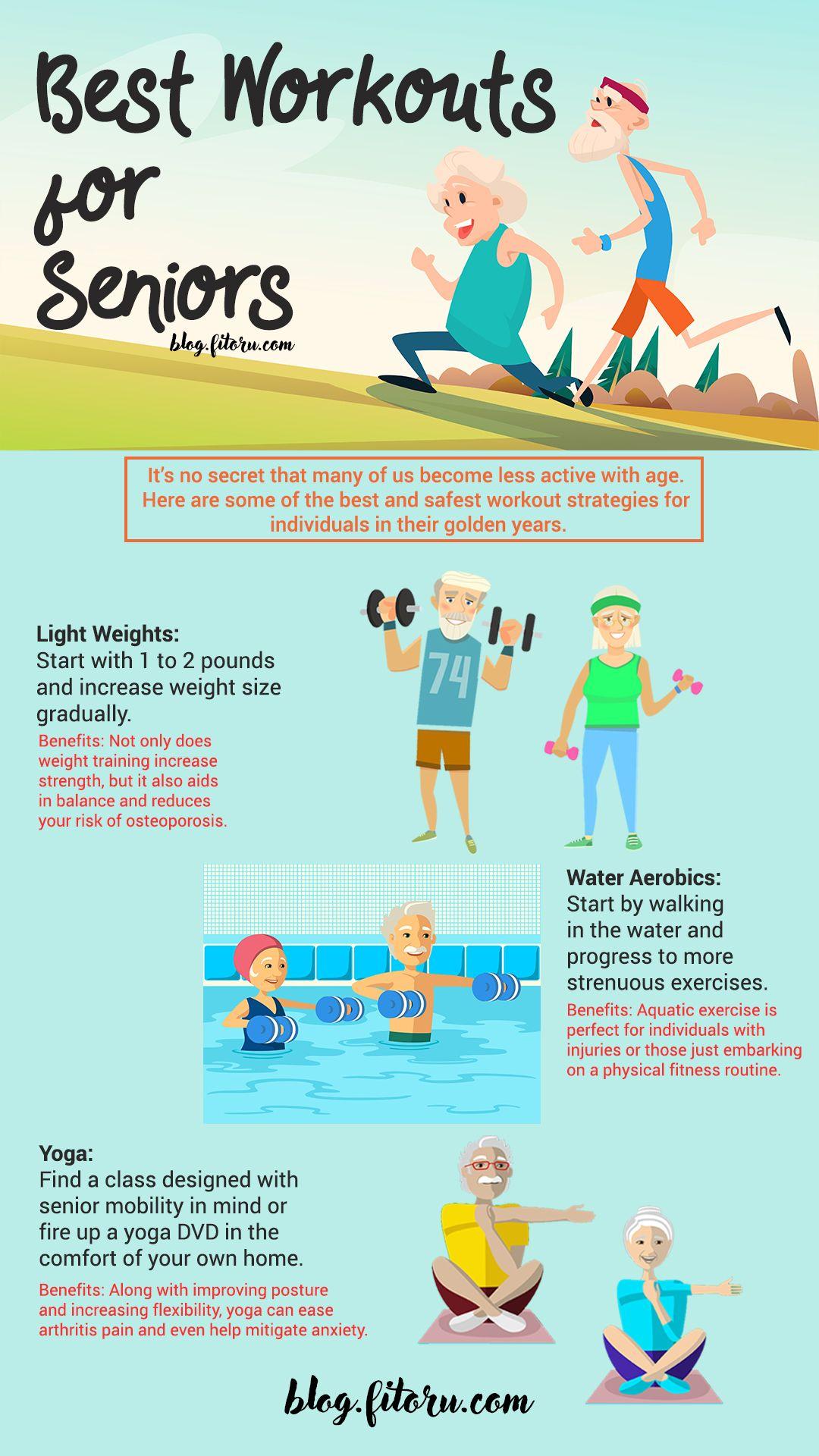 Exercise Tips for Senior/Elder Americans (and Their Loved