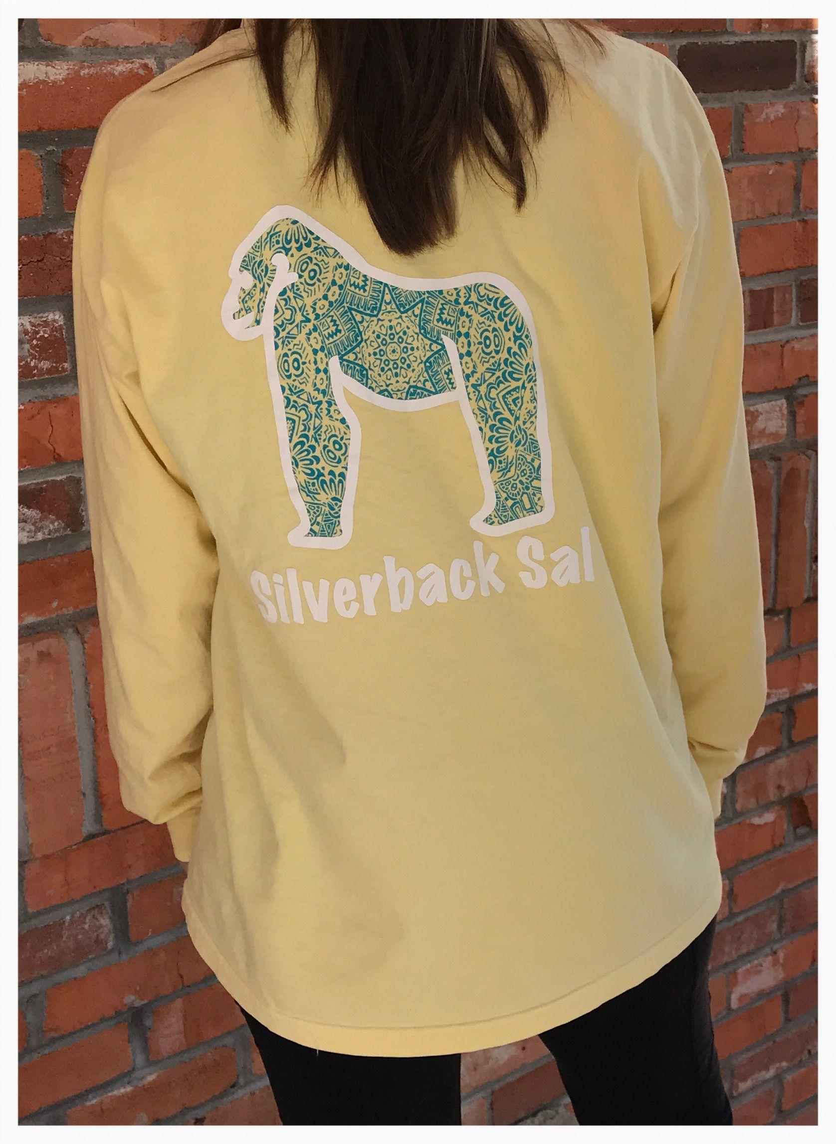 f46651afa891d Silverback Sal banana yellow long sleeve hand dyed shirt. Very comfortable  100% cotton!