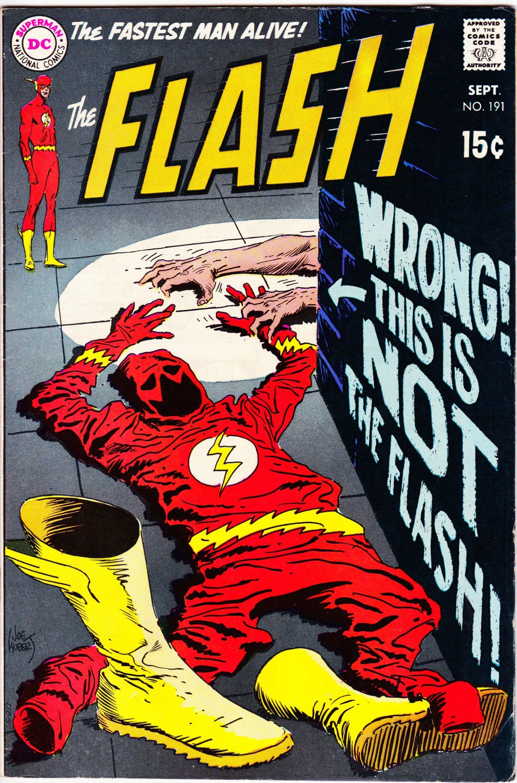 Flash 191 1959 1st series september 1969 dc comics
