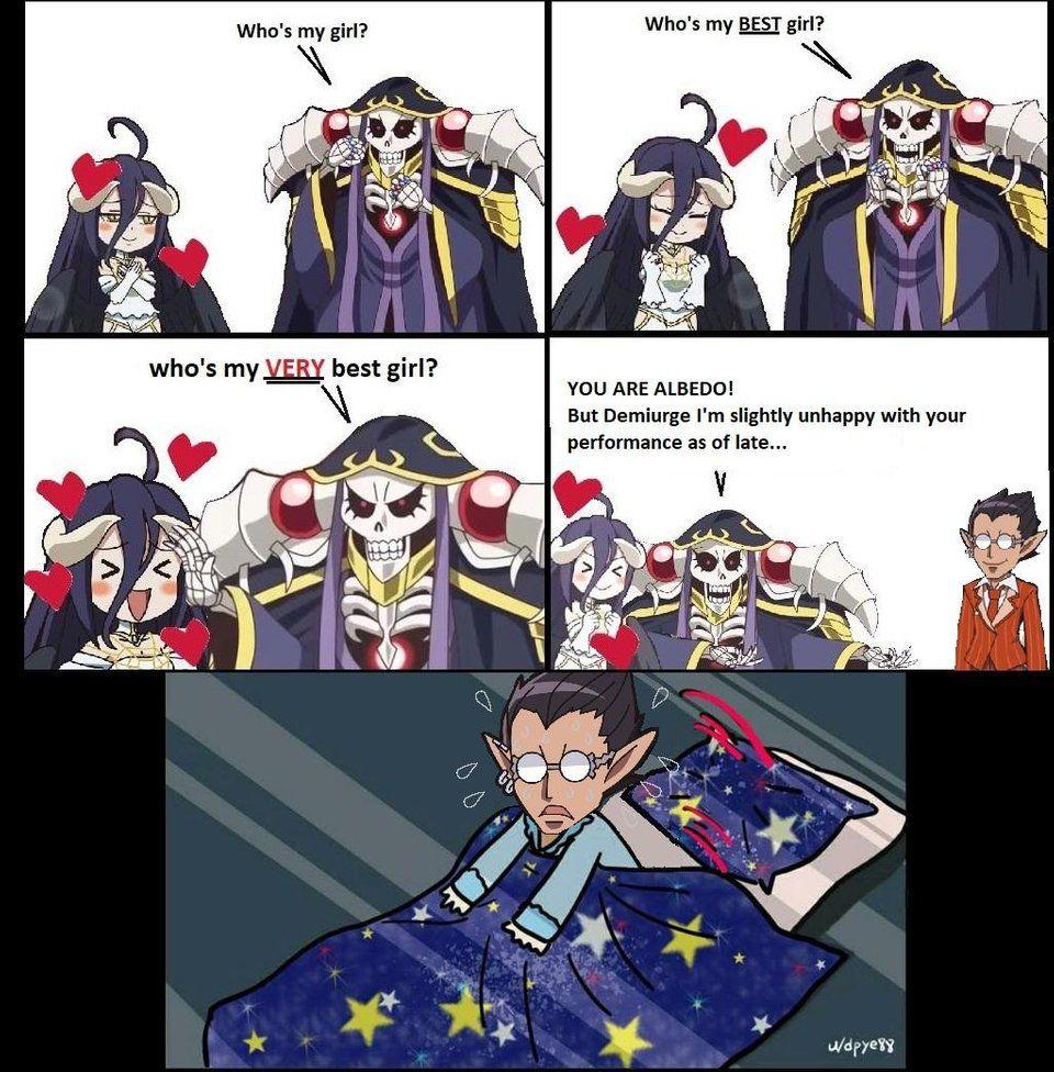 Overlord funny Anime, Dank anime memes, Anime crossover