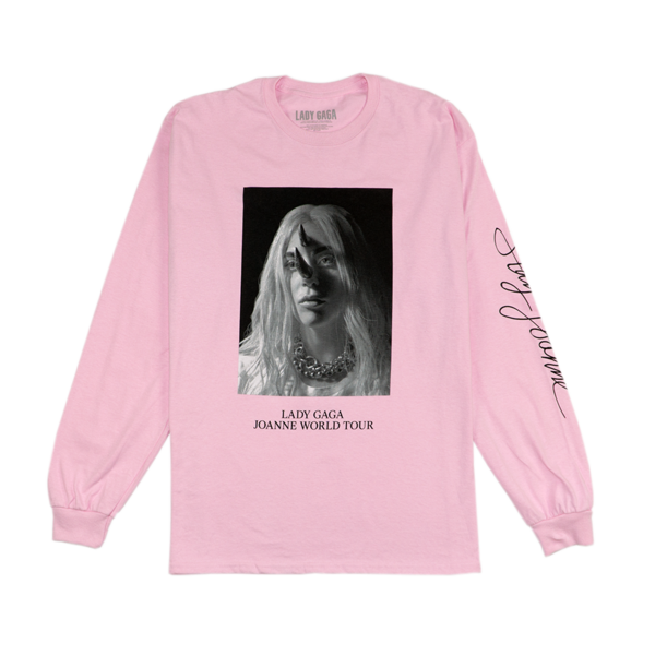 Horns Pink Long Sleeve T Shirt Lady Gaga Official Shop Outfit Inspiration Women Lady Gaga Outfits Shirts