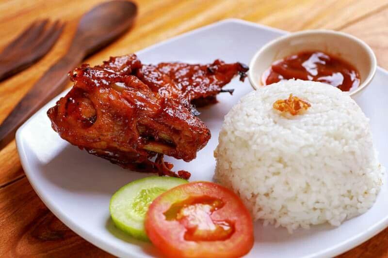 ayam bakar n nasi putih nasi ayam ayam bakar n nasi putih nasi ayam