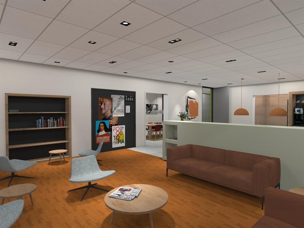 Yield Projecten B.V.   Renovatie personeelskamer - Visser 't Hooft Lyceum