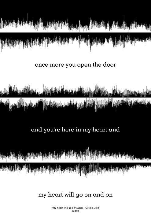 Lyrics Music Waveform Poster | ❤️DAD❤️ | Lyrics, Music quotes