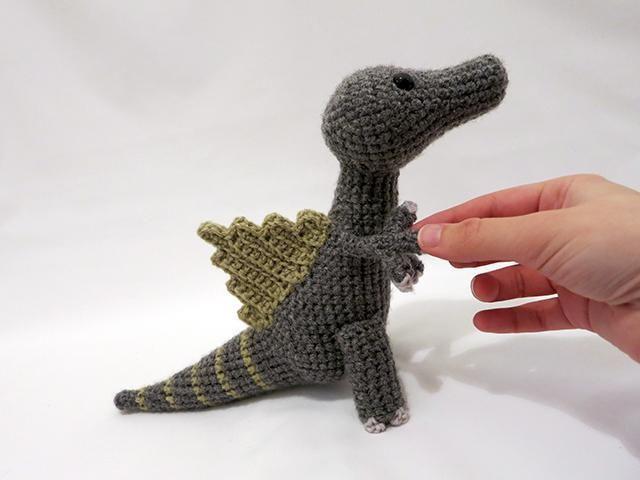 Amigurumi Spinosaurus Dinosaur | Tejidos a crochet y dos agujas ...