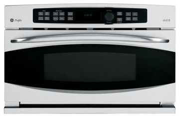 Ge Profile Built In Convection Microwave Modern Ovens Convection Wall Oven Wall Oven Modern Ovens