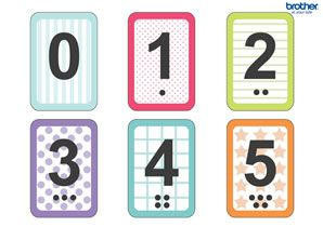 Number Flash Cards For Kids Free Printables For Backtoschool Diy Classroom Fun Printable Flash Cards Flashcards Free Printable Numbers