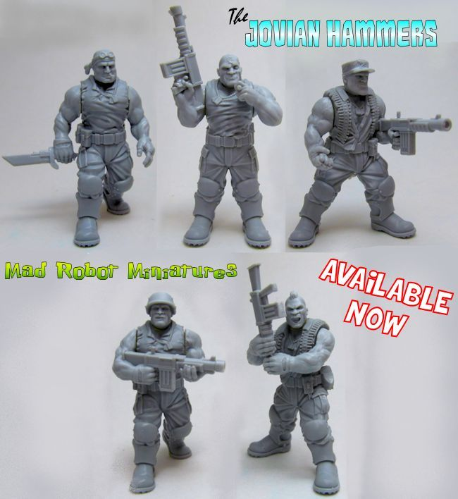 Ogryns Jovian Hammers 3rd Party 40k Bits And Models Pinterest