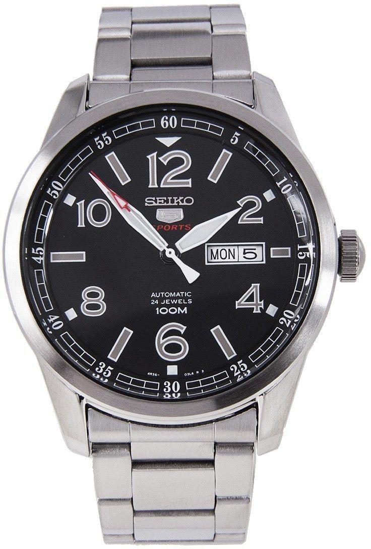 3dabff5d6232 Reloj Seiko 5 Automático 24 Rubíes 100m Hombre Sports SRP619K1