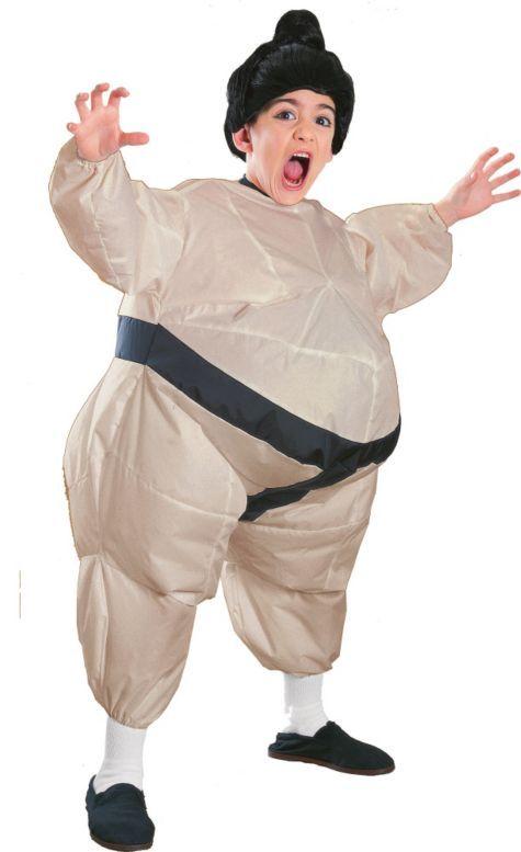 Boys Inflatable Sumo Wrestler Costume - Party City | Halloween ...