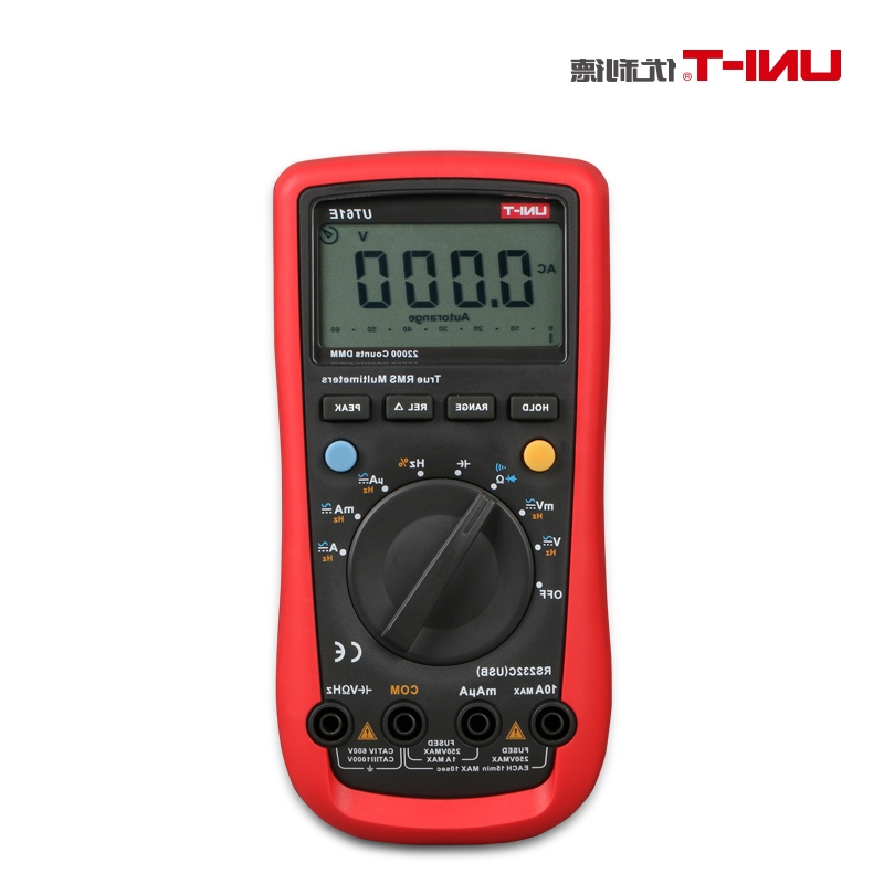 49.38$  Buy here - http://alidsx.worldwells.pw/go.php?t=32596861607 - UNI-T UT61E Modern Digital Multimeters AC/DC Voltage Current Resistance Diode Tester with Large LCD Screen