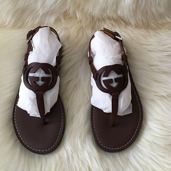 ce13e862985e30 Gucci kids leather sandals NWT....size 11 toddler.... 295 pypal Gucci Shoes