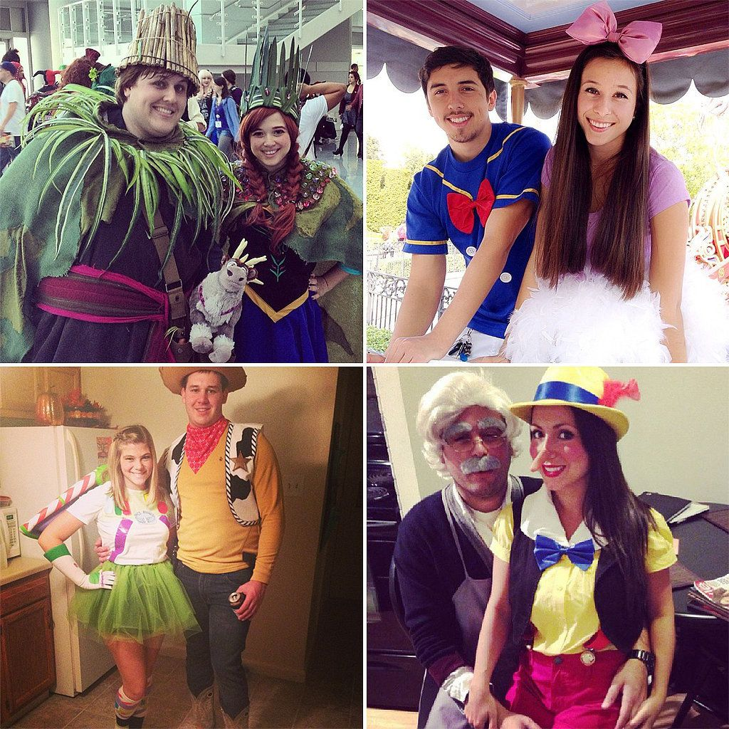 Disney Costume Ideas 50 Adorable Disney Couples Costumes Disney Couple Costumes
