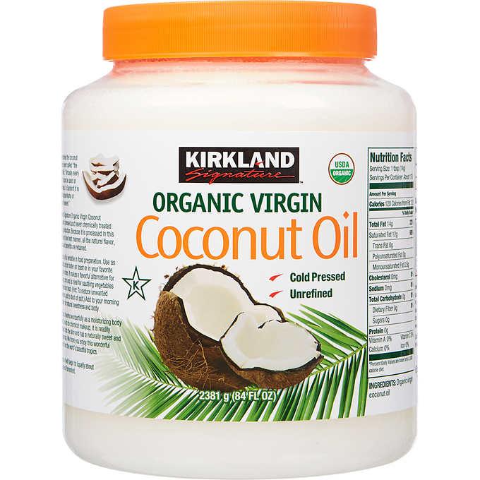 Kirkland Signature Organic Virgin Coconut Oil, 84 fl oz in