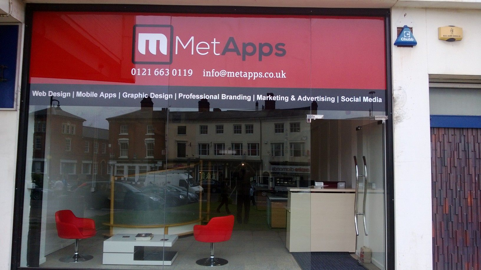 MetApps Ltd in Jewellery Quarter, Birmingham UK We do Mobile apps, websites, business systems, software, graphic design and more!
