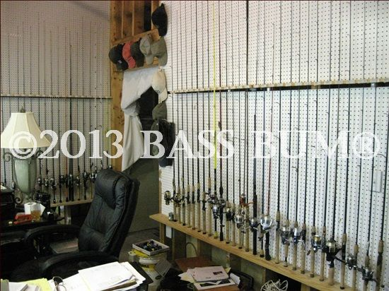 Fishing Tackle Gear A Man Cave Storage Systems
