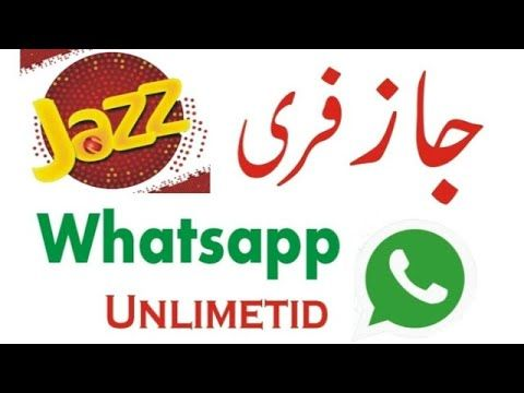 Mobilink Jazz Free Whatsapp Unlimited Internet Packages Jazz Internet Jazz