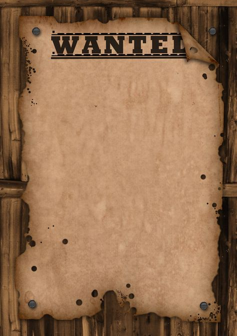 A template wanted poster. Free for use | Cowboy | Pinterest ...
