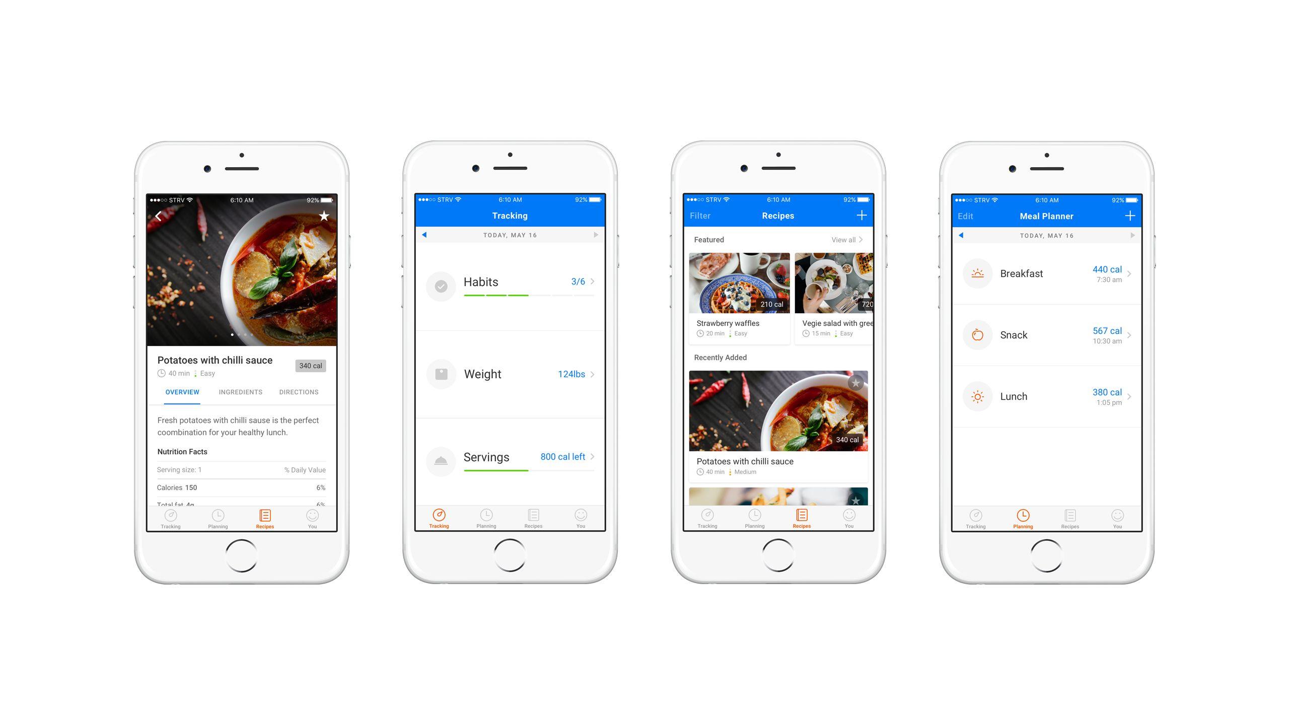Diet app proposa full strv