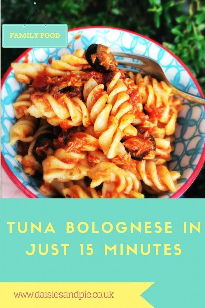 Tuna bolognese recipe easy family dinner recipes easy family brilliant fast recipe for tuna bolognese ready in just 15 minutes meaning its great for forumfinder Choice Image