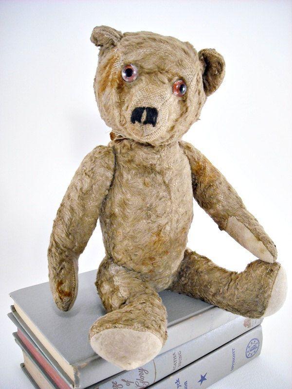 c59ebf48b51 Antique Teddy Bear Steiff Jointed Mohair 1920s | Bears | Teddy bear ...