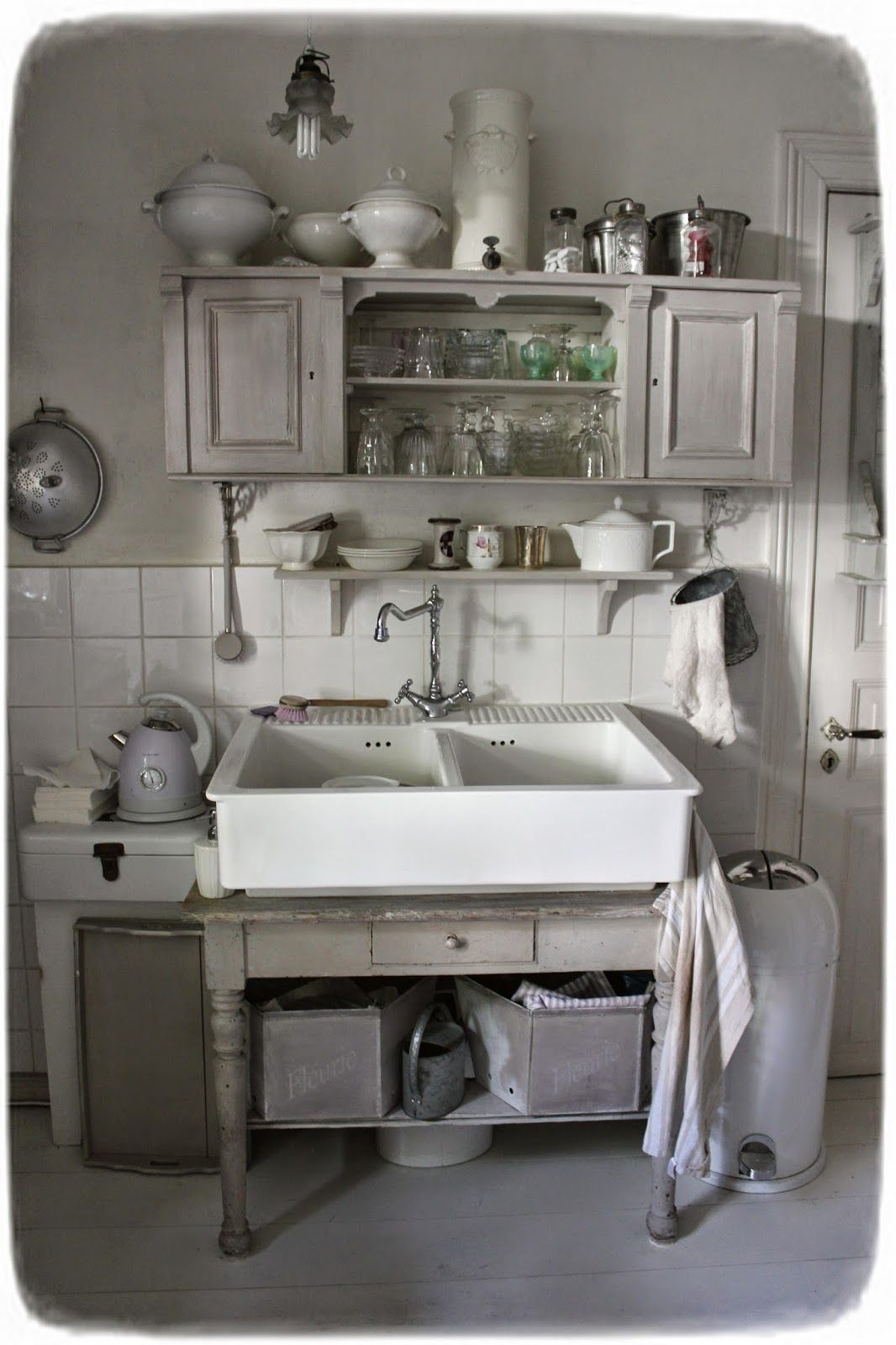 Vintage wohnideen méas vintage küche   kitchen  pinterest  shabby farm house