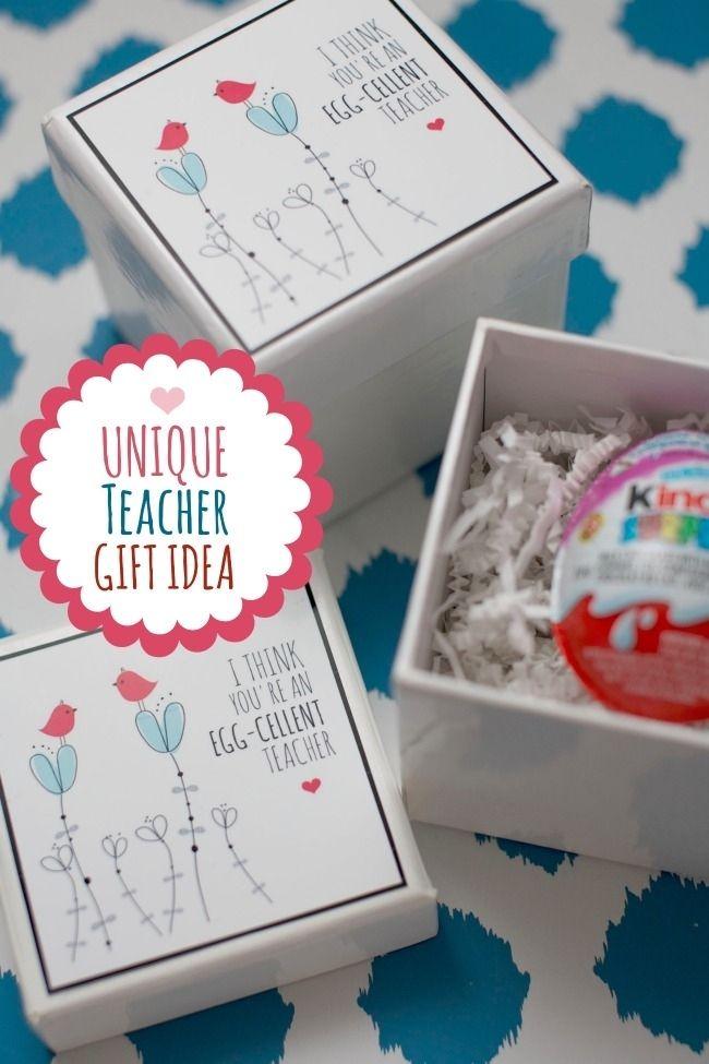 Inexpensive and unique teacher gift idea   For Braedon & Colson ...