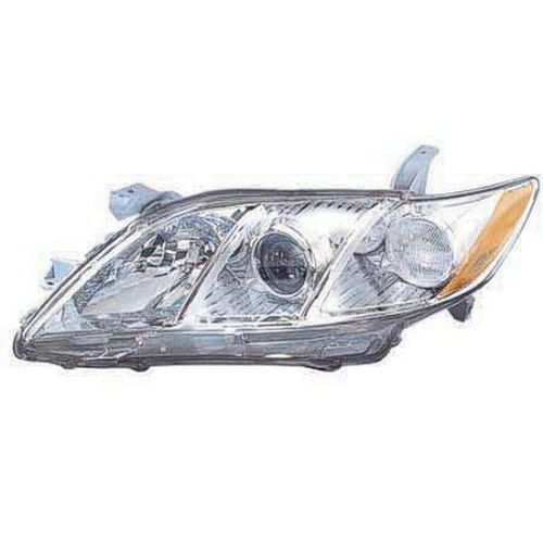 2009 Toyota Camry Left Driver Side Head Light Lens And Housing Japan Built To2502167C