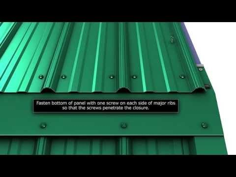 How To Install Metal Roof Transition Trim For Union S