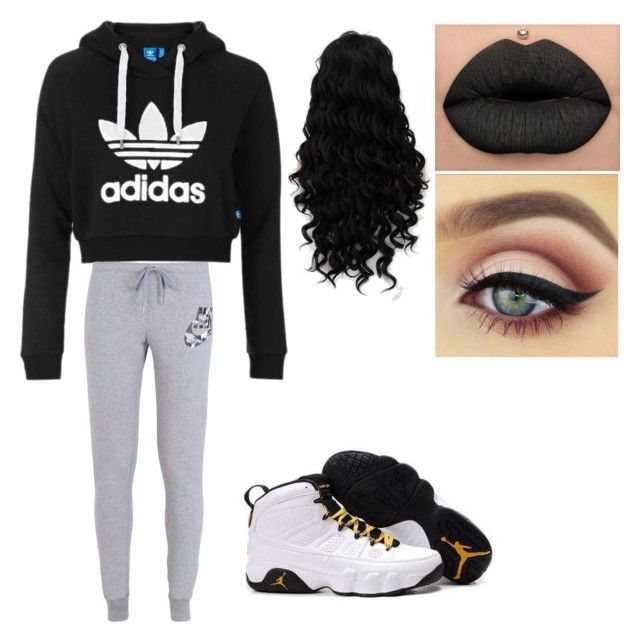 """""""Swag"""" by badbosstiffee ❤ liked on Polyvore featuring Topshop and NIKE"""