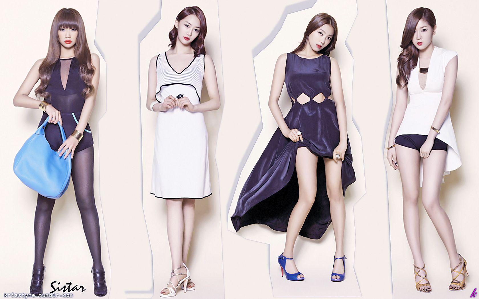 Google themes kpop - Sistar South Korean Girl Band Members Hyolyn Bora Soyou Dasom Kpop Sistar