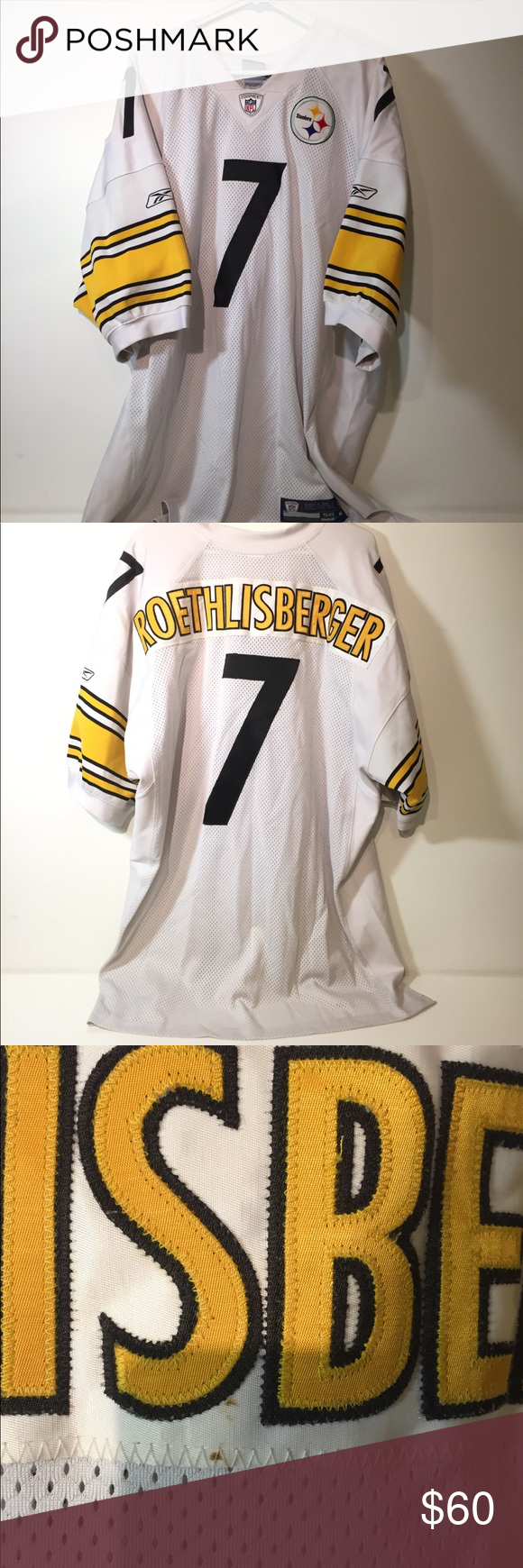 brand new 4204f 0374e Authentic NFL Equipment Ben Roethlisberger Jersey Like the ...
