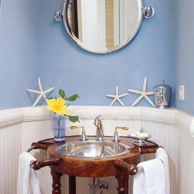 Baño marinero   Decoracion cuartos de baño, Decoracion de ...