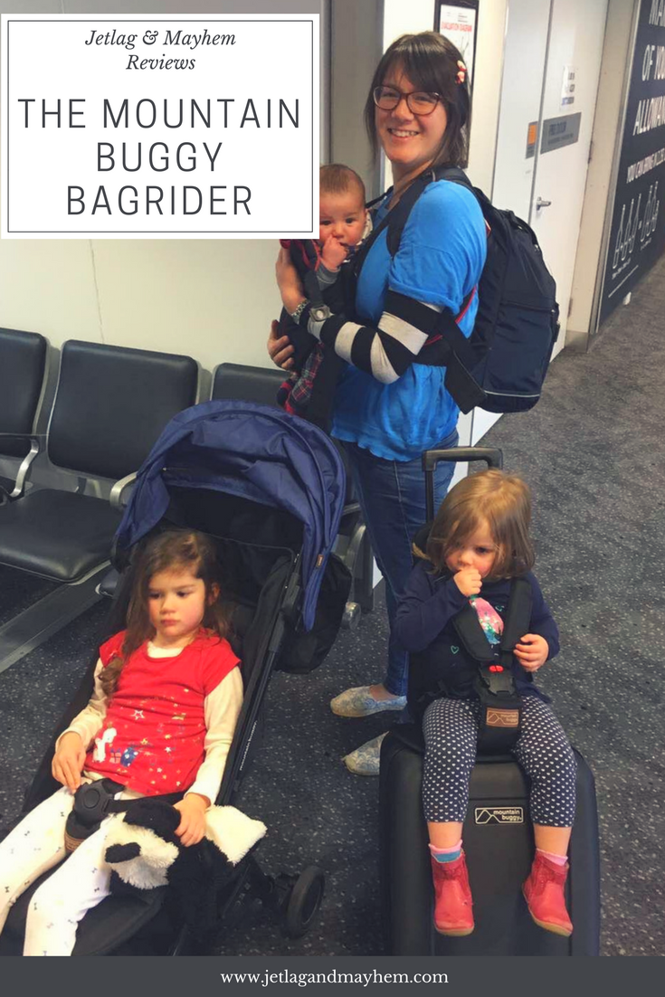 Review Of The Mountain Buggy Bagrider Mountain buggy