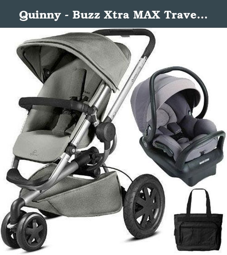 Quinny Buzz Xtra Max Travel System With Bag Gravel Grey The New Quinny Buzz Xtra Takes Your Favorite Strol Quinny Buzz Xtra Baby Strollers Quinny Stroller