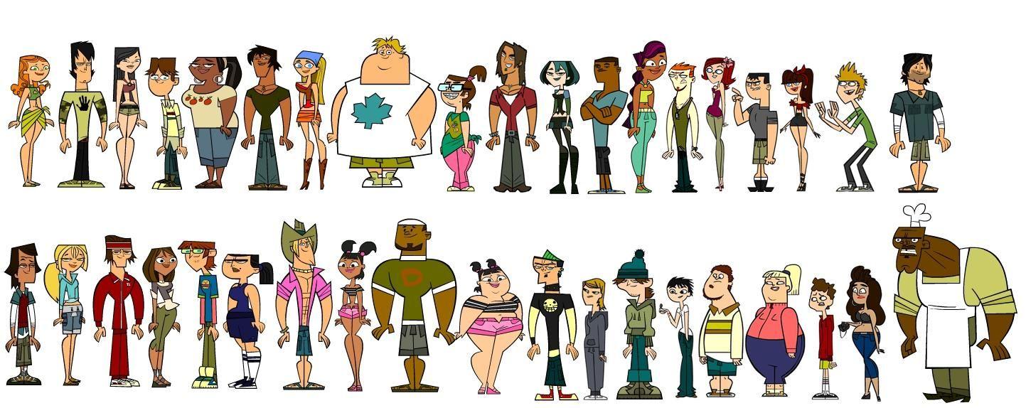 Total Drama Island-Cast  Teams  Total Drama In 2019 -3142