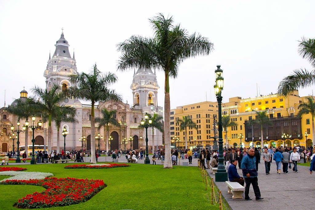 Lima Cathedral Peru Travel Peru Tours Lima City