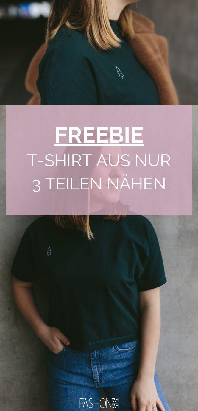 Schnittmuster T-Shirt bam