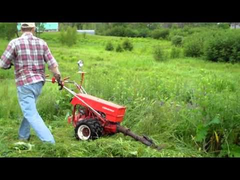 Gravely sicklebar | Gravely walk-behind tractor  I couldn't do