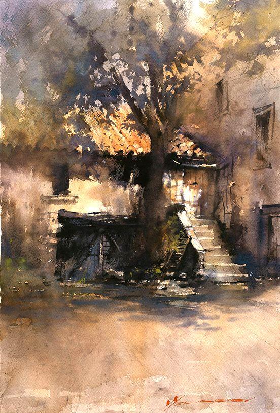 Vladislav Yeliseyev Steps Of Lioux Umetnost Art Peinture
