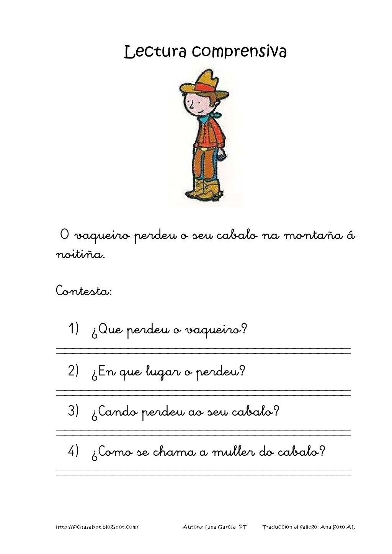 Lecturas comprensivas 5 8 galego by nomenterodelapataca via ...
