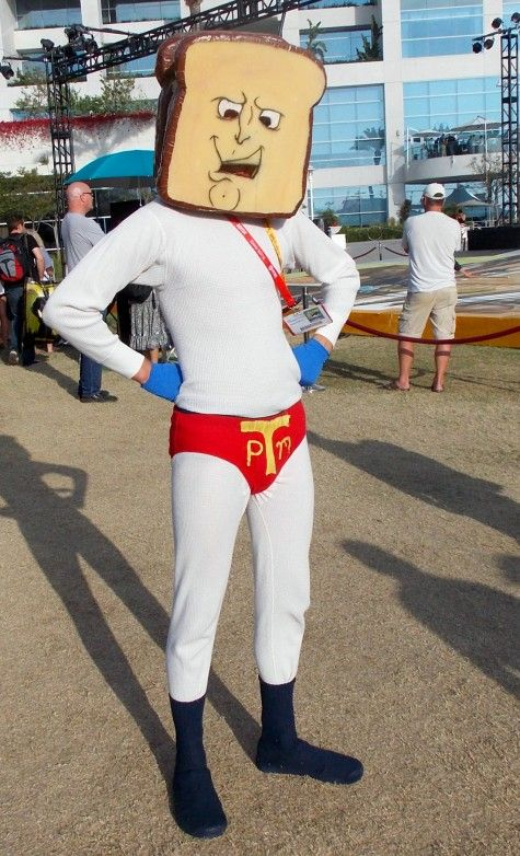 Comic Con Costumes · Toast · Powdered Toast Man : comic con costumes for men  - Germanpascual.Com