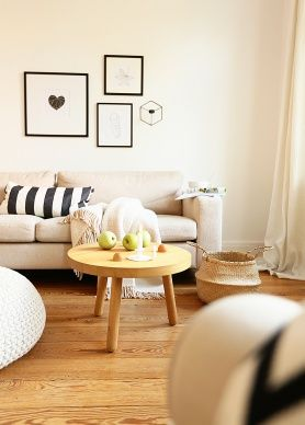 #Bilderwand: Schöne Idee Für Das Wohnzimmer #interior #bilderwand  #bilderrahmen #deco