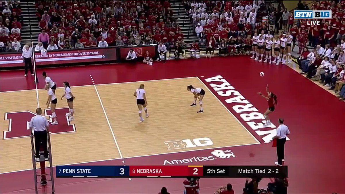 Husker Volleyball On Twitter Okay Mikaela Foecke Gbr Volleyball High School Sports School Sports