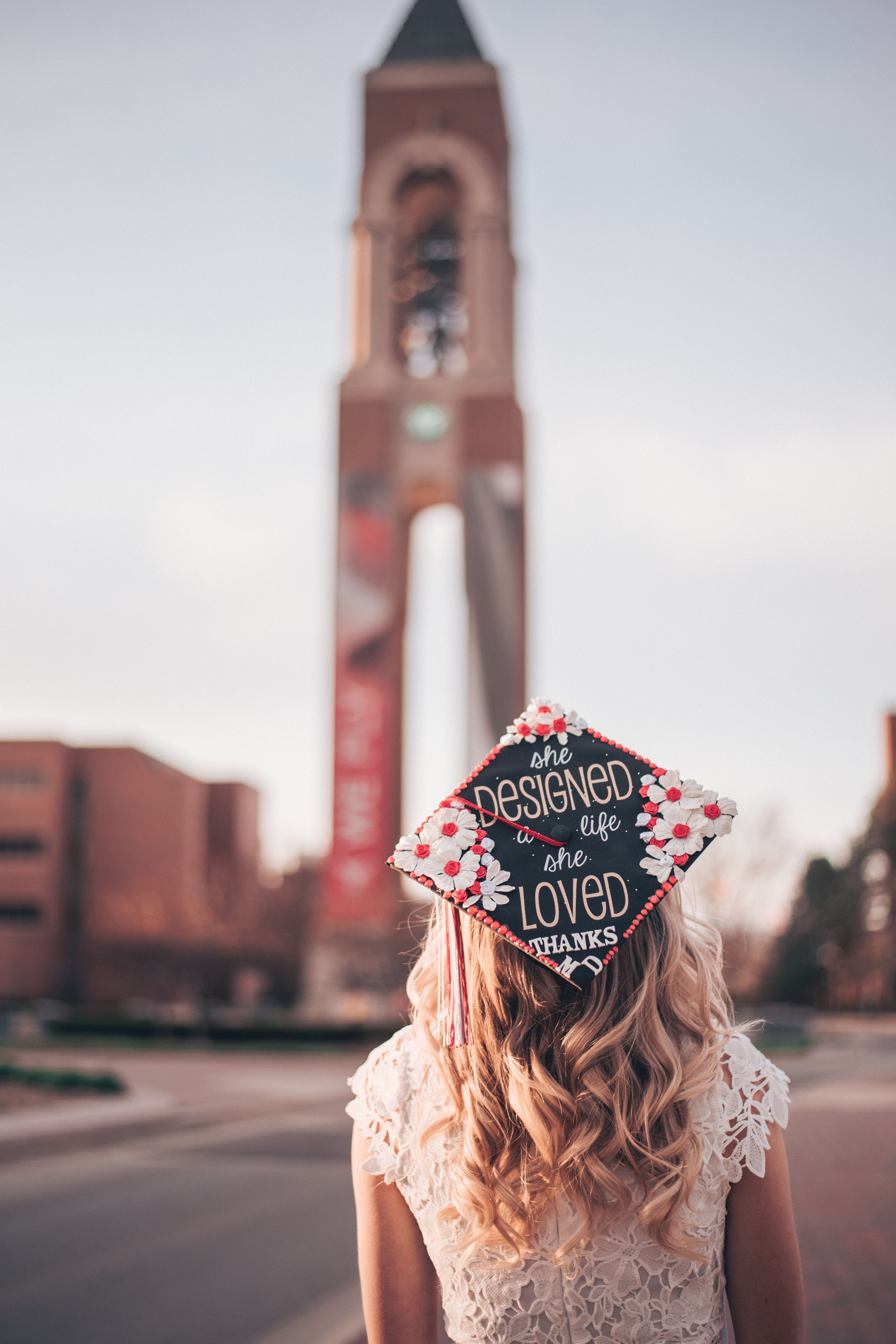 Ball State University - Graduation 2018 Pictures - Kaleigh Friesen Photography - Senior Pictures - College Photoshoot - Grad Cap