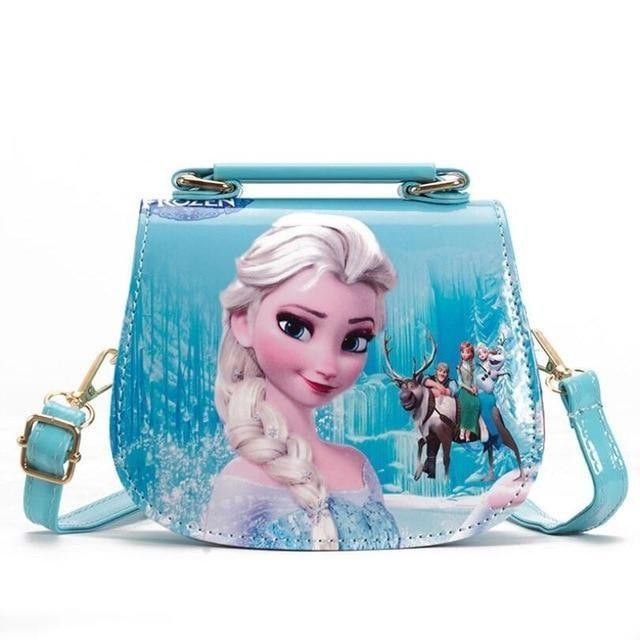 New Arrive Children mini cute bag child Elsa handbag kids tote girls purse shoulder cartoon handbag messenger bag