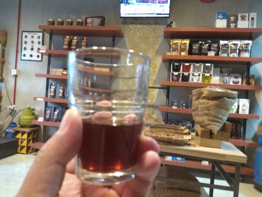 Anoa Coffee Makassar Sulawesi Selatan Indonesia Kopi