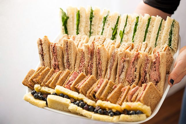 Image result for High tea sandwiches