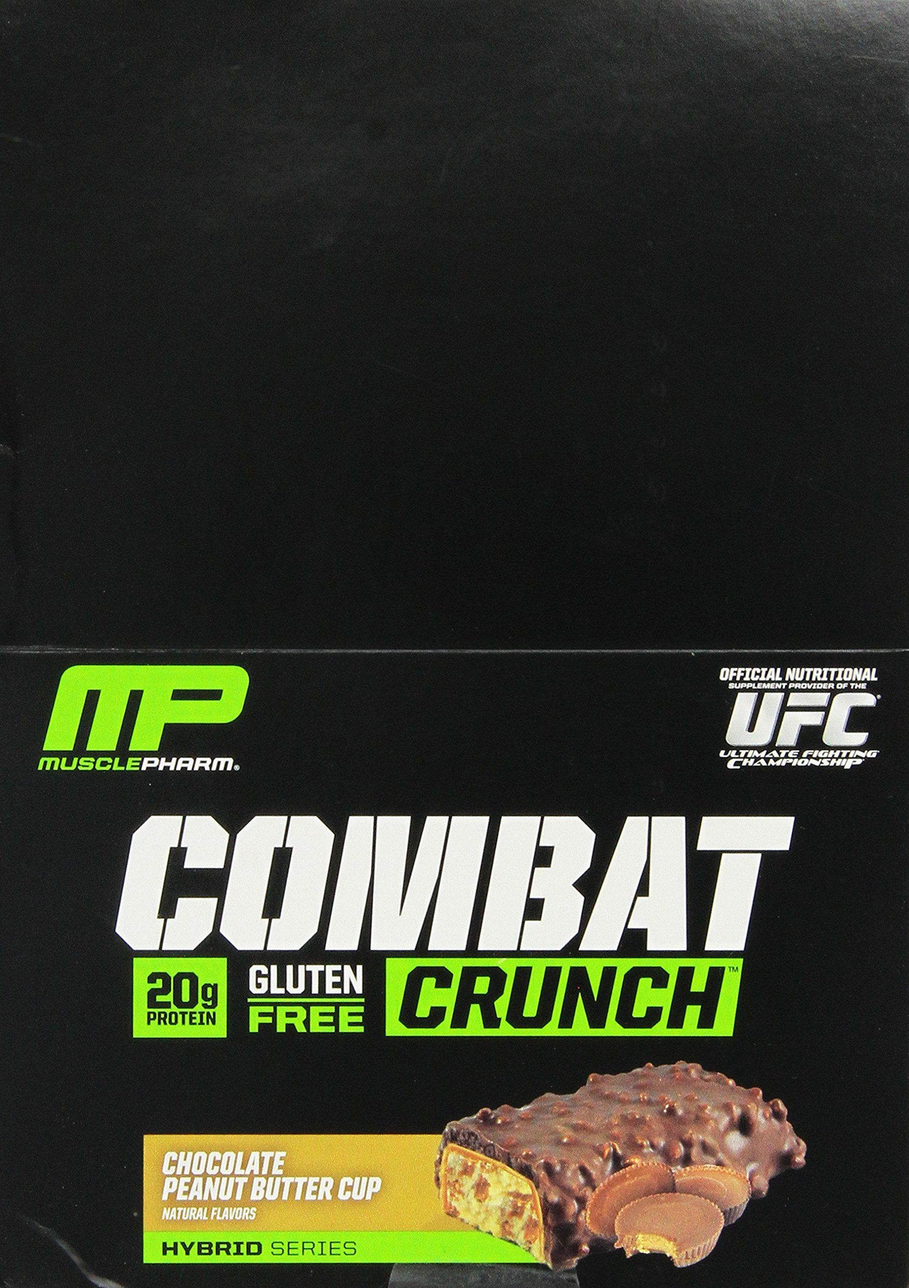 Musclepharm Combat Crunch Protein Bar Multilayered Baked Bar 20g